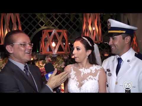 Luiz Bernardoni registra casamento na chácara Paradiso