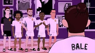 Gareth Bale Sleeps While the Housemates Party | The Champions S2E2
