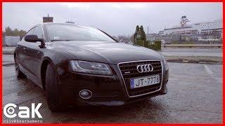 Audi A5 testa brauciens 0-100 kmh