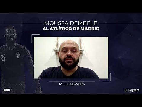 Talavera: «Dembélé es un delantero que va al espacio, y es algo que le faltaba al Atlético»