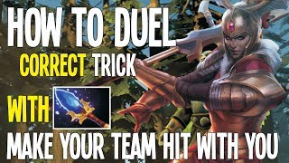 Its Time To Duel Currect with Legion Commander | Dota 2 Tips and Tricks