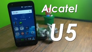 Video Alcatel U5 X_GV012G9qA