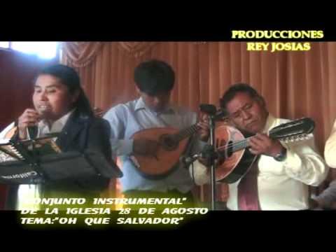 OH QUE SALVADOR- CONJUNTO INSTRUMENTAL 28 DE AGOSTO.flv