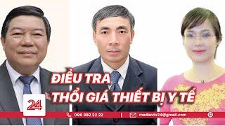 Nguyên Giám đốc, Phó Giám đốc BV Bạch Mai bị bắt | VTV24