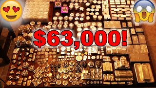 Full Stack: 216lbs of Gold and Silver!! (3,150 OZ's)