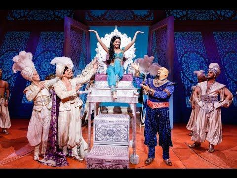 Disneys ALADDIN - Sängerin Vanessa Mai wird für einen Tag Prinzessin