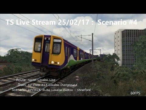 APC313: 5L86 15:20 London Euston - Stratford (Livestream 25/02/17)