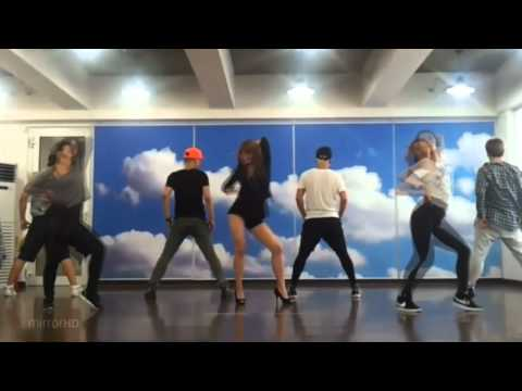 Stephanie - Game mirrored Dance Practice