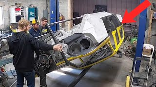 We Turn The Corvair Build Upside Down!