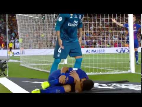Hậu quả của việc ăn vạ trước mặt Ramos
