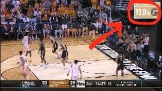 Purdue-Tennessee win probability goes berserk in NCAA tournament thriller