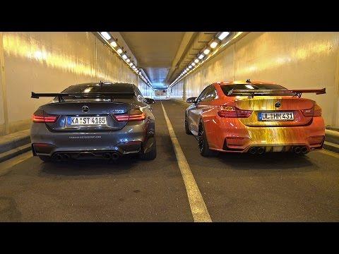 BMW M4 Rev Battle: Hamann vs Akrapovic!