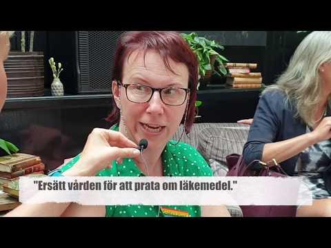 Sara Riggare på MSD Policy Lab i Almedalen 2019