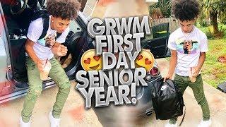 GRWM: FIRST DAY OF SENIOR YEAR! 😍