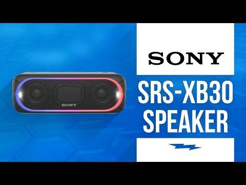 Sony SRS-XB30 Portable Bluetooth Speaker
