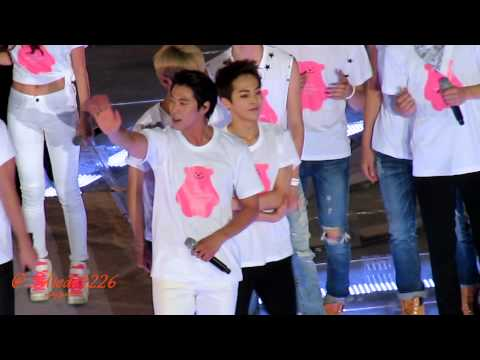 140815 smtown concert Ending 빛 (yunho focus)
