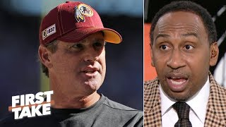 Stephen A.'s sources say the Redskins will fire Jay Gruden | First Take