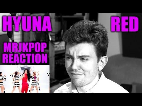 HYUNA RED ( 빨개요 ) Reaction / Review - MRJKPOP