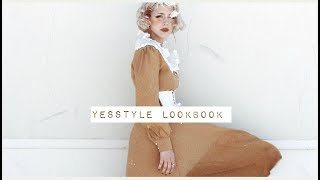 i wish it was fall but it's summer // a Yesstyle lookbook