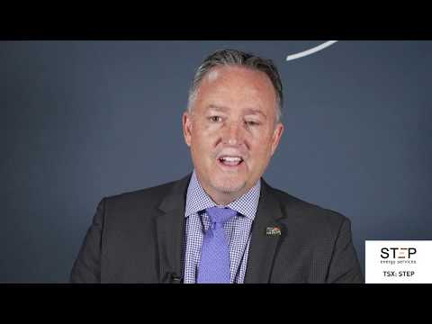 View from the C-Suite: Regan Davis, President & Chief Executive Officer, STEP Energy Services Ltd., tells his company's story.
