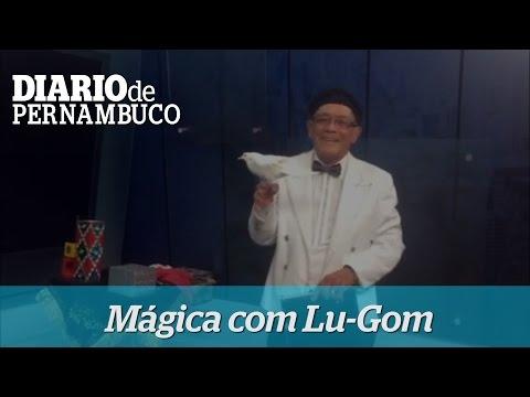 M�gico Lu-Gom apresenta n�mero especial para o Diarinho