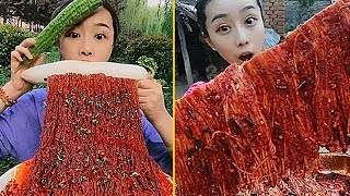 Super Spicy Food Eating Noodles Show Collection #3 - Chinese Food #ASMR #MUKBANG