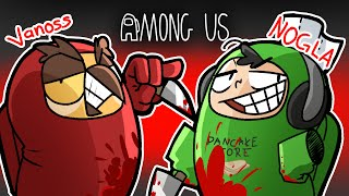 Among Us but Vanoss & I win as imposters somehow...