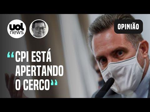 Celular de Dominghetti: Pazuello queria mais vacinas no 2º semestre, relatou cabo da PM ao pai
