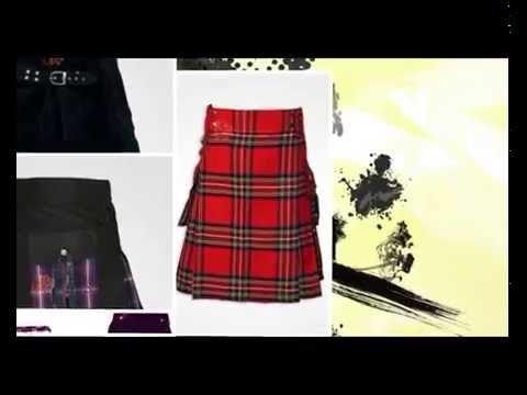 Dashing Kilts Custom made Hybrid Kilts Tartan Kilts and kilts Accessories