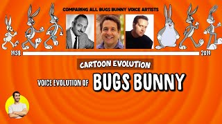 Voice Evolution of BUGS BUNNY Over 81 Years (1938-2019) Explained