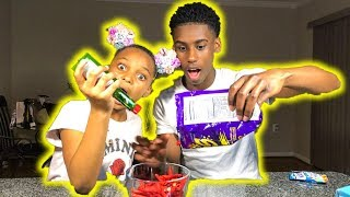 Takis Challenge!! With Jalapeno Sauce Super Funny😂