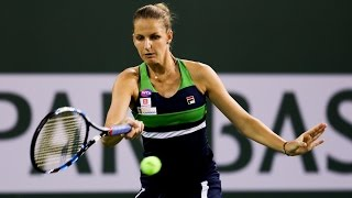 WTA R2 Highlights: Pliskova Vs. Puig