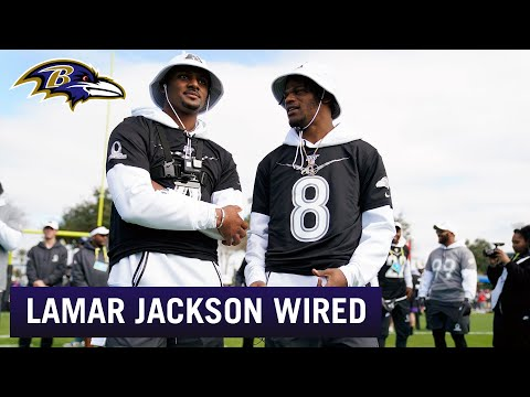 Lamar Jackson Wired at the Pro Bowl | Baltimore Ravens