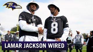 Lamar Jackson Wired at the Pro Bowl | Baltimore Ravens