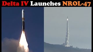 Delta IV Rocket Launches NROL-47 Secret Payload