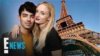 Sophie Turner & Joe Jonas Show PDA in France Ahead of Wedding No. 2