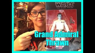 """STAR WARS THE BLACK SERIES: 6"""" Grand Admiral Thrawn Review"""