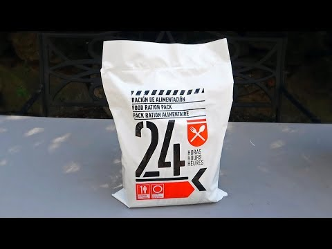 24 Hour Vegetarian Individual Survival MRE (Meal Ready to Eat)