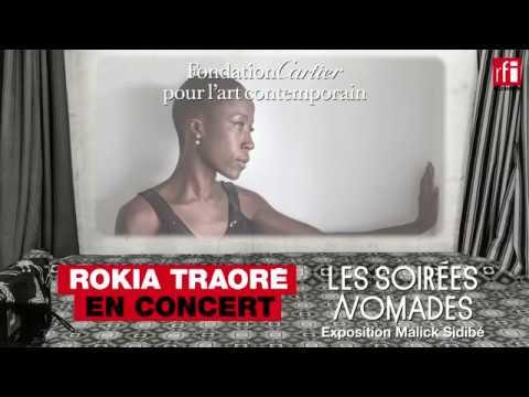 Rokia Traoré en concert à la Fondation Cartier