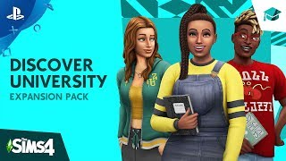 The Sims 4 | Discover University Official Reveal Trailer | PS4