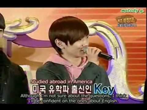 [ENG] SHINee Key's Sexy English