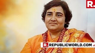WATCH: Sadhvi Pragya's First Interview With Republic TV After Joining The Bharatiya Janta Party