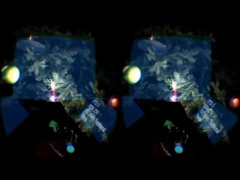 Virtual 3D Xmas Tree! (Oculus Rift + Leap Motion)