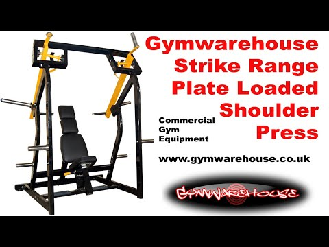 Iso Lat Plate Loaded Shoulder Press