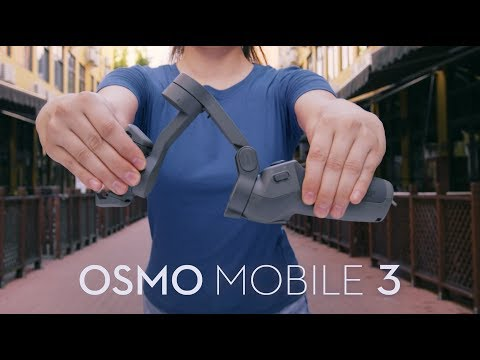 video DJI OSMO Mobile 3