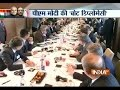 PM Modi takes part in Round Table Conference with CEOs in France