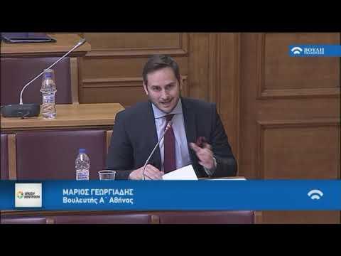 Μ. Γεωργιάδης / Επιτροπή, Βουλή /20-4-2018