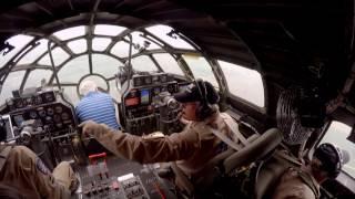 Crawl through a B-29 Superfortress IN FLIGHT! + Real-Time procedures / ATC - Oshkosh AirVenture!