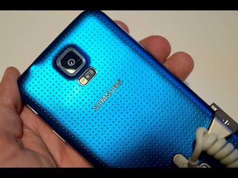 Samsung Galaxy S 5: Hands-On and Feature Tour