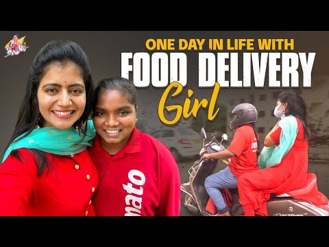 Shiva Jyothi shares about a Zomato food delivery girl, asks everyone to support her